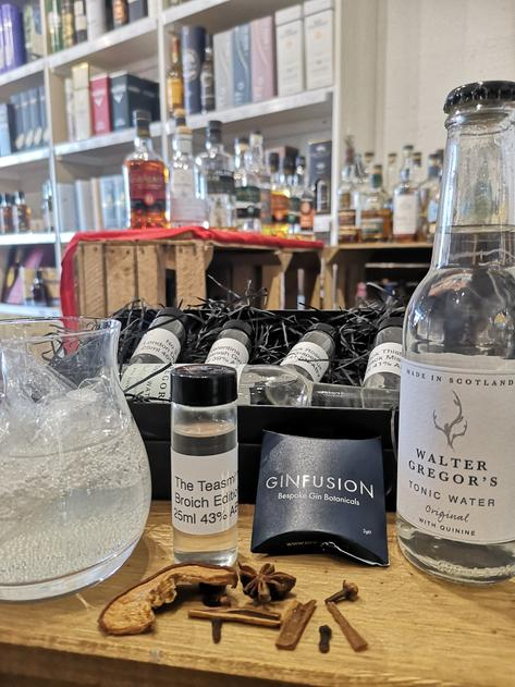 Inverurie Whisky Shop Gin Tasting