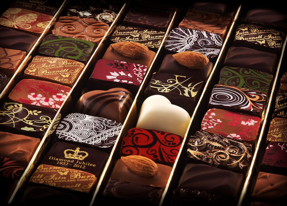 Image of artisan chocolates