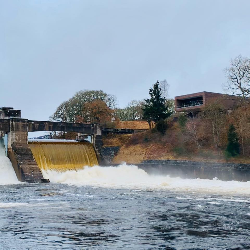 Photo of Pitlochry hydro dam