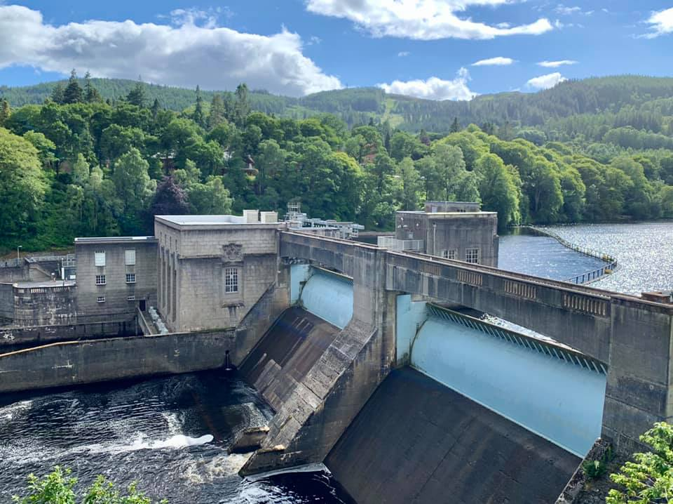 IMage of Pitlochry Hydro dam