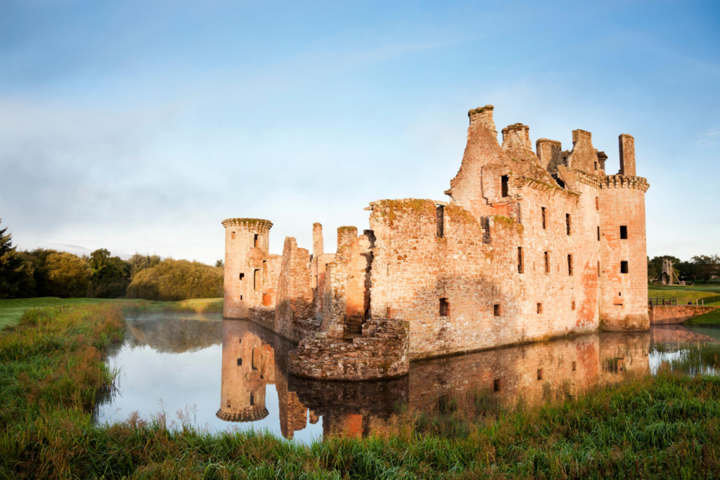 Photo of Caerlaverock Castle