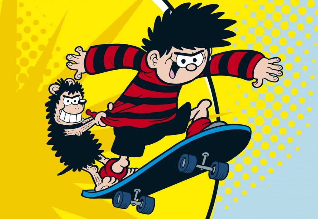 Image of Dennis the Menace and Gnasher