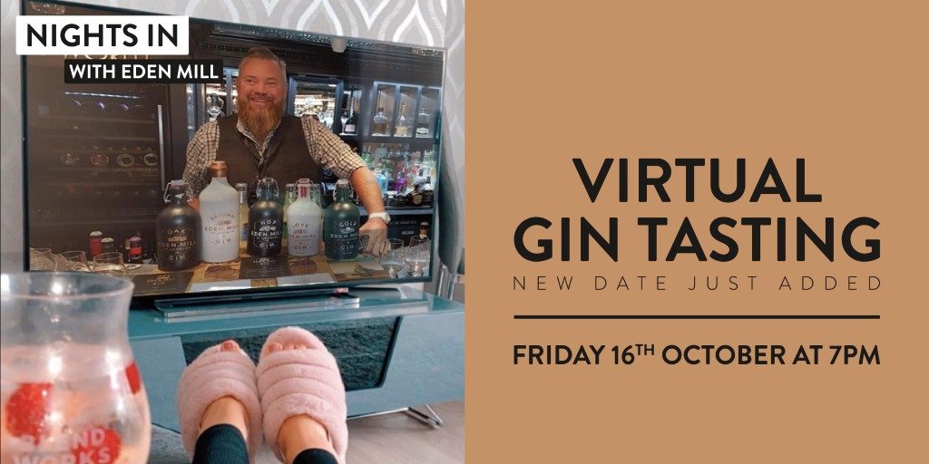 Virtual Gin tasting with Eden Mill Gin
