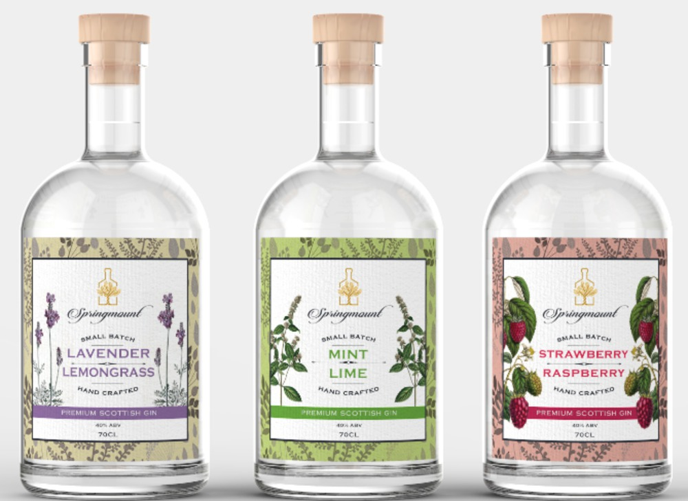 Springmount Scottish Gin Range
