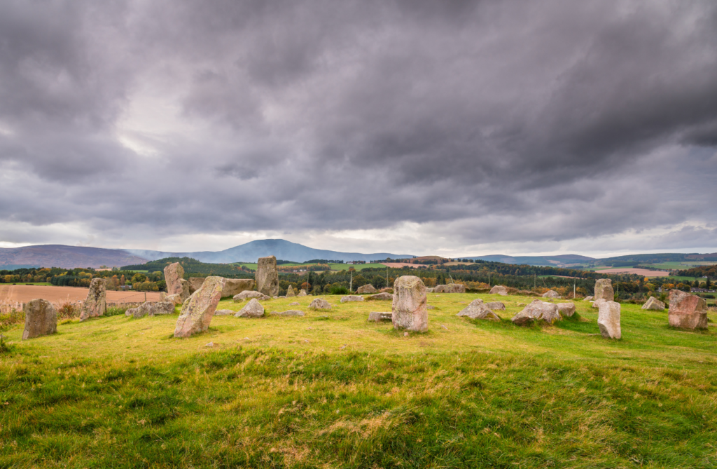 Tomnaverie Stone Circle Royal Deeside
