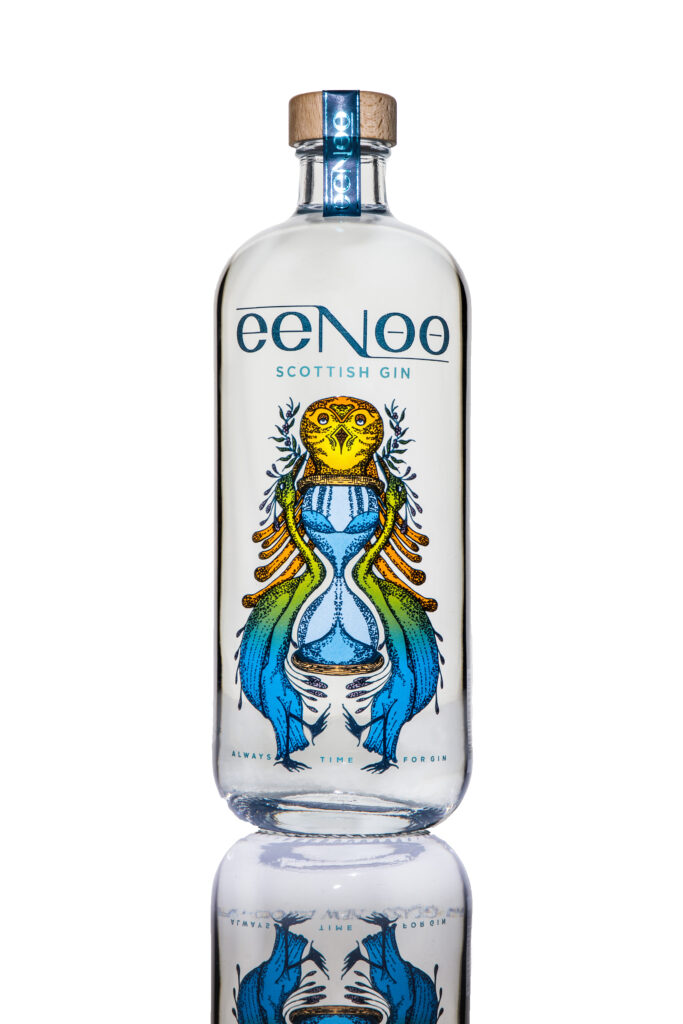 Eenoo Scottish Gin Bottle