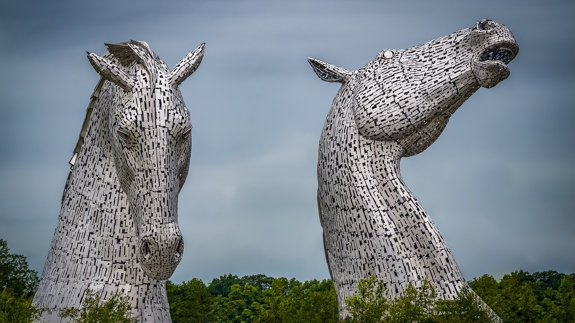 Kelpies for Day Trip to Royal Deeside