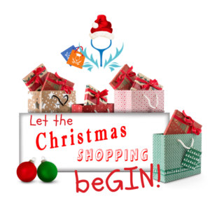 Let the Christmas Shopping beGin with Ginspired Logo
