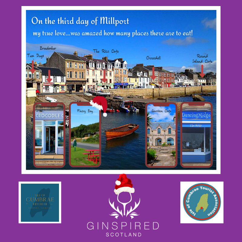 12 Days of Millport competition images